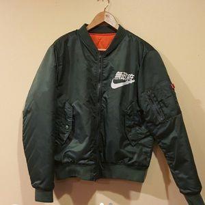Nike Kanji bomber jacket